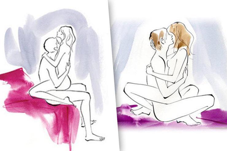 Глубокие отношения: 7 поз для суперглубокого проникновения