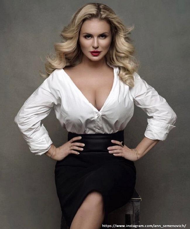 Анна Семенович заявила, что сможет иметь детей, сколько захочет