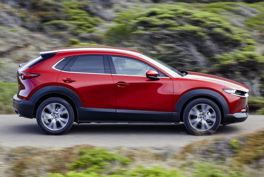 Кроссовер Mazda CX-30 уходит с российского рынка