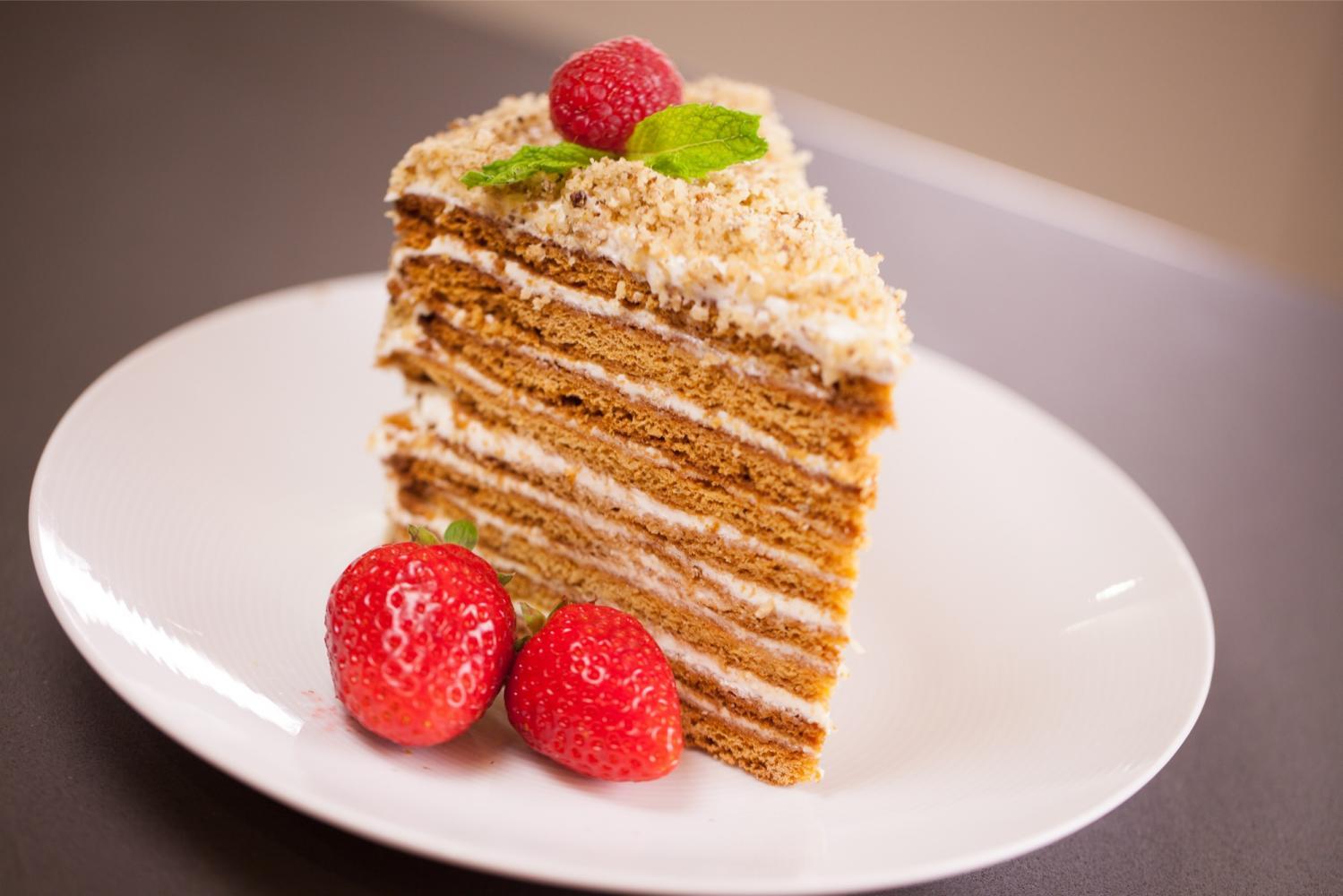 Медовик за 30 минут без раскатки коржей. Безумно вкусный и нежный торт